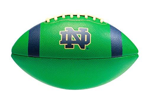 Under Armour Notre Dame Fighting Irish Spongetech Football, Green, Junior Size