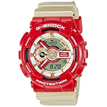 Casio Men's G-Shock GA110CS-4A Gold Resin Quartz Watch