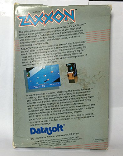 Zaxxon - Apple II/II+/IIe/IIc