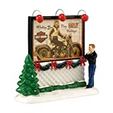 Department 56 Snow Village Dreaming of A Harley Holiday Accessory, 2.17 inch