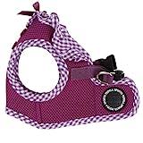 Puppia Authentic Vivien Vest Harness B, Large, Purple