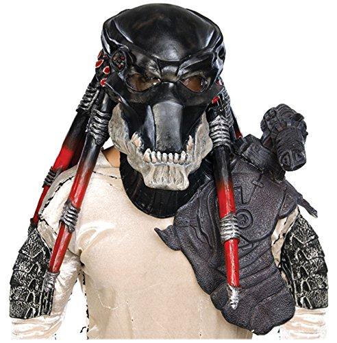 Deluxe Alien Overhead Latex Mask - Deluxe Predator Overhead Mask Costume Accessory