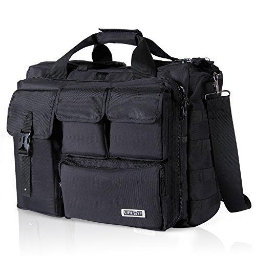 Lifewit 17.3' Men's Military Laptop Messenger Bag Multi-functional Tactical...