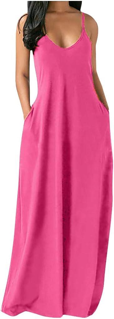 Women Tank Tops Dresses Lady Plus Size Rainbow Sleeveless Evening Party Mini Dress XL, Multicolor