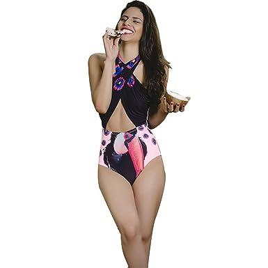 ASHOP bañador Natacion 2019 Bikini Mujer Push up Relleno ...