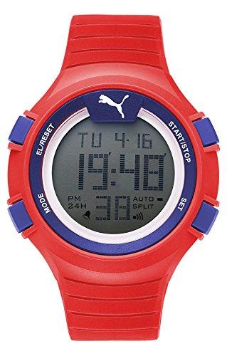 Puma Red Plastic Watch-PU911261005