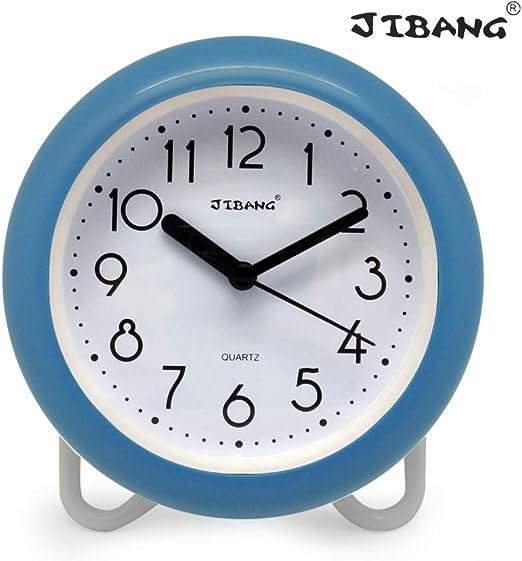 Amazon Com Jibang Waterproof Bathroom Clock Desktop Clocks For