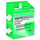 Kimberly-Clark Kimtech Science 34644 Kimwipes Lens Cleaning Station POP-Up Box Disposable Wiper, 8-25/64'' Length x 4-25/64'' Width, White (4 Packs of 4)