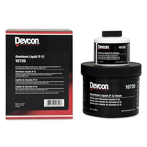 Devcon 10720 Aluminum Epoxy Liquid (F-2), 48 fl. oz. by Devcon