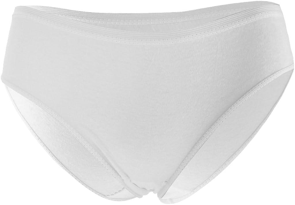 IPOTCH - 2 braguitas desechables de algodón, tamaño grande, para ...