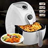 YHG Air Fryer, For Healthy Fried Food up to 80% less fat, 1300W 2.7-Liter Capacity, Includes Airfryer Baking Set and Recipe Book, AF-Airfryer200A