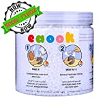 EAOOK Thermoplastic Plastimake Moldable Plastic Pellets Nice For Repair Furniture, DIY Toys. Super Hardness When Cool (Preferential Pack 500G/17.6OZ)