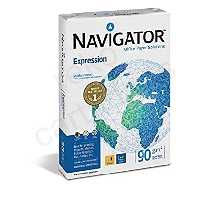 Navigator FSC expresión papel A3 90 g/m², 1000 hojas: Amazon.es ...