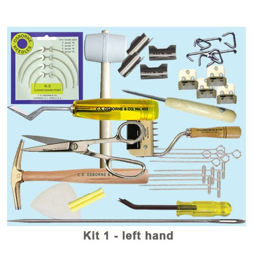 FoamOrder | Upholstery Tools Kit - Starter Set #1 for Professionals | Hammer, Shear Pins, Mallots, Upholster pins | Perfect for Furniture or Upholstering Usage | by Upholster.com (Image #1)