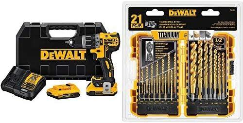 DEWALT DCD796D2 20V MAX XR Lithium-Ion Brushless Compact Hammerdrill Kit