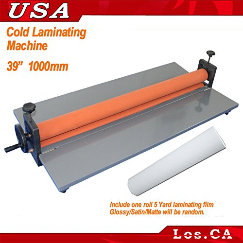New 39Inch 1M Manual Cold Laminating Mounting Vinyl Film Machine Laminator (Laminator Mounting)