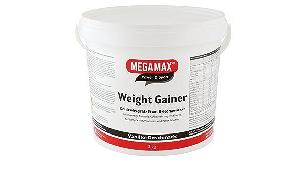 MEGAMAX - Suplemento para ganar peso y masa muscular