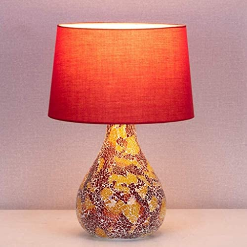 XYZMDJ Art Deco Table Lamp,Ceramic Lamp Body, Suitable for Living Room, Bedroom, Hall Table Lamp