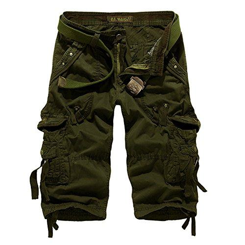 Pantaloncini Hakjay Green Army Army Uomo Pantaloncini Uomo Hakjay W5xA8qWwfz
