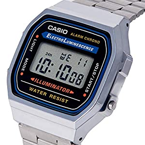 Casio Collection A168WA – Reloj Unisex para Adultos 51cHhLQlDSL