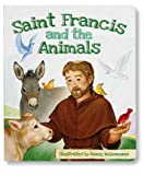 AT001 Religious & Catholic Gifts, Aquinas Kids Board Book - Saint Francis and the Animals