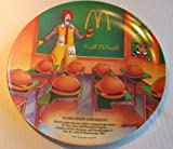 "Vintage 12"" Mcdonalds Promotional Plate : Hamburger University"