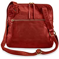 Levenger Leather Alexa Crossbody Traveler