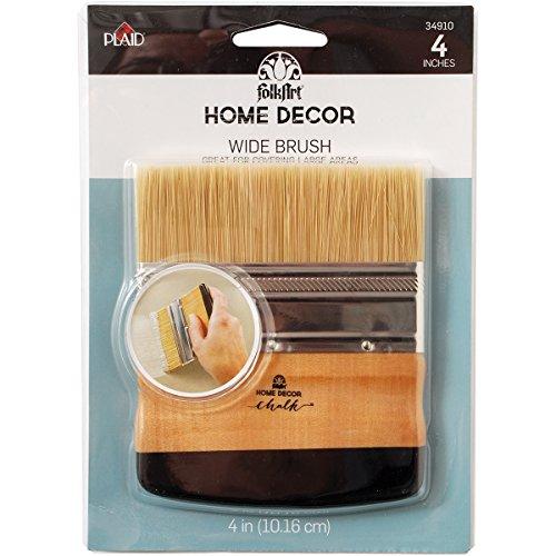 (FolkArt Home Decor Chalk Wide Brush, 34910 )