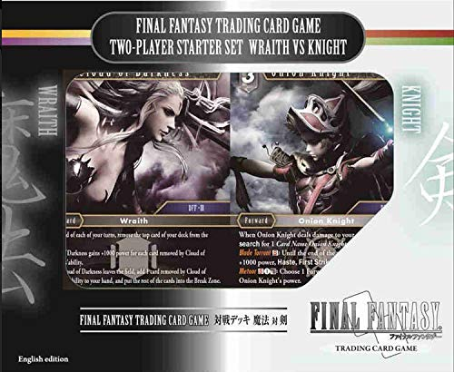 Wraith vs Knight Deck - Square Enix Final Fantasy Opus IX Trading Card Game Two Player Starter Set