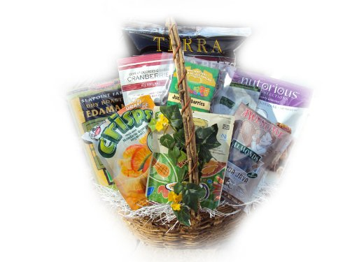 The Brain Boosting Healthy Gift Basket by Well Baskets by Well Baskets