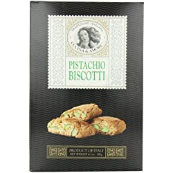 Cucina and Amore Biscotti Cookie, Pistachio, 6.3 Ounce