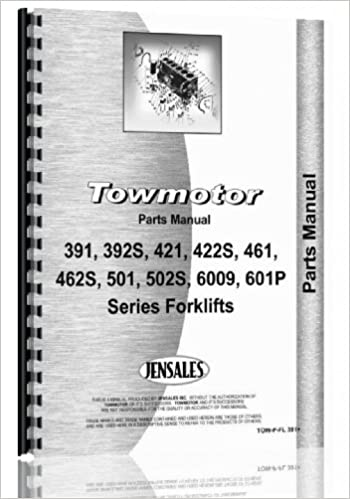 Towmotor Forklift Parts Manual: Towmotor: 0739718135079: Amazon com
