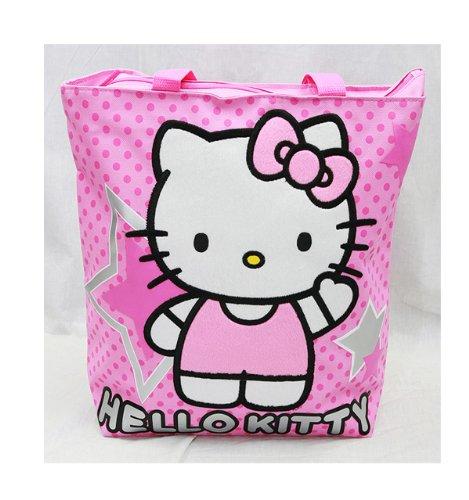 Tote Bag - Hello Kitty - Pink Star New Gifts Girls Hand Purse 81405-2   B009BBPQ8U