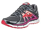 Brooks Women's Adrenaline GTS 17 Anthracite/Festival Fuchsia/Bittersweet 8.5 D US