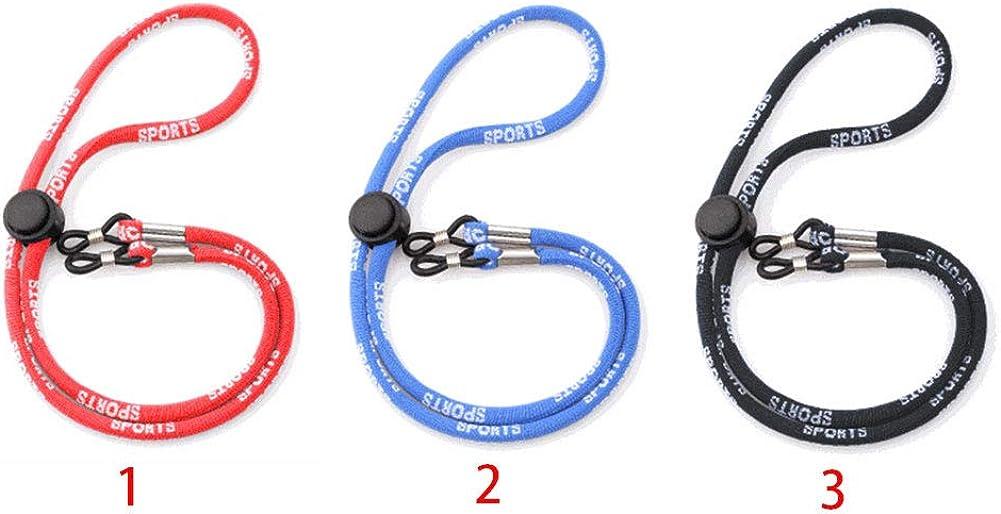 blau Neopren szlsl88 Rutschfestes PE-Brillen-Umh/ängeband f/ür Sport schwimmende Brille
