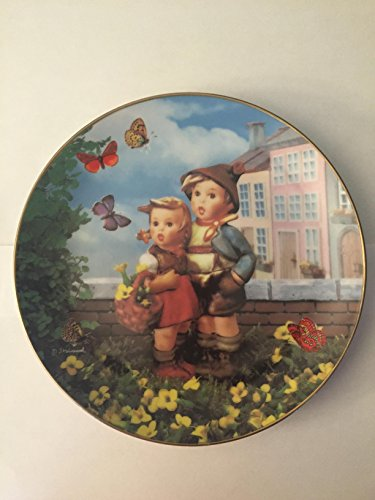 The Danbury Mint M I Hummel Surprise Collector Plate