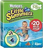 Huggies Little Swimmers Pannolini, Taglia 3+ (7-15 kg), 1 Pacco da 20 Pezzi