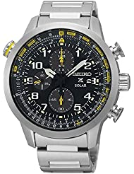 Seiko Mens Prospex Solar Chronograph Watch