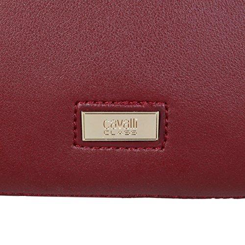 Handbag Handbag Designer Women Cavalli Class Women Genuine Red zv0qWT