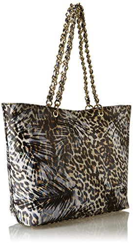 Guess Mujer Joy Bolso de hombro Multicolore (Jungle)