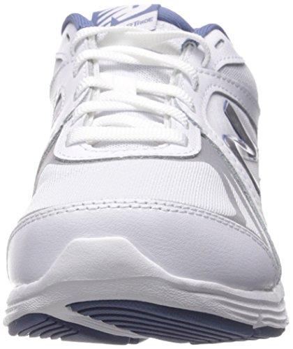 New Balance Damen WW496V3 Walking Schuh-W Cush + Wanderschuh Weiß Blau