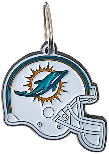 NFL Dog TAG - Miami Dolphins Smart Pet Tracking Tag. - Best Retrieval System for Dogs, Cats or Army Tag. Any Object You'd Like to Protect
