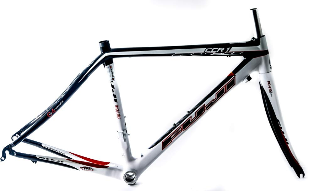 Fuji CCR-1 47cm 700c カーボンファイバーロードバイクフレーム + フォーク。 B07JPFG85L