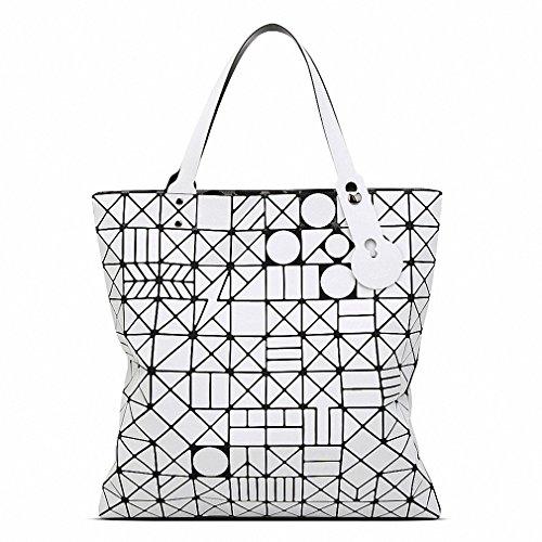 Fashion Style New Spring Women Bags Casual tote capacity Geometric Bao Bao bag Luxury Brand Designer Ladies BaoBaoHandbag Bags white 40x40 cm