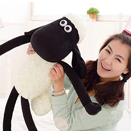 wholesale baby toy 30cm Cute Shaun the sheep lamb plush toys Christmas gift bag sends kids Best Free shipping DL1086 ()