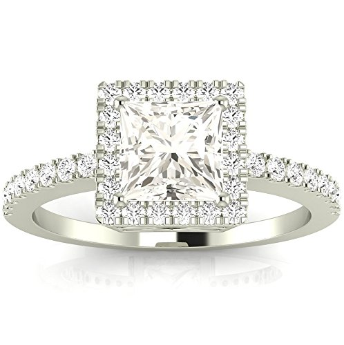 0.6 Ct Princess Diamond - 6