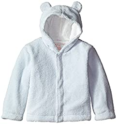 Magnificent Baby Baby-Boys Hooded Fleece Jacket, Blue Sorbet, 0-6 Months
