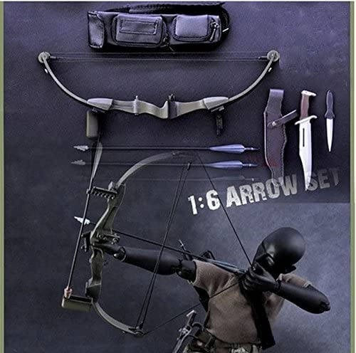 1//6 Scale Toy Rambo III Compound Bow w//Arrows
