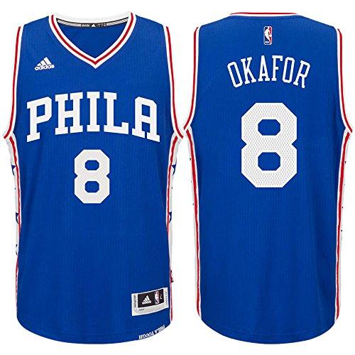 Philadelphia 76ers Jahlil Okafor Adidas Swingman Jersey (Small)