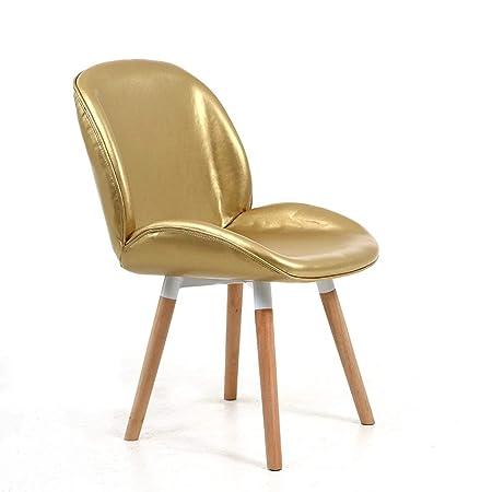 SGLI Concha de oro silla de comedor silla de escritorio silla ...